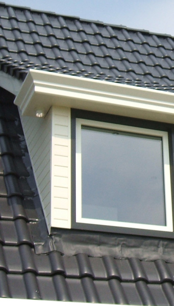 Groot raam dakkapel