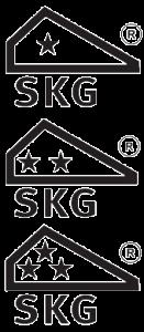 SKG keurmerk. Hoe meer sterren hoe veiliger uw deur